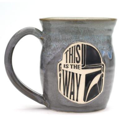 star wars this is the way stormy skies 20 oz. mug